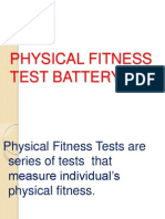 swimming fitness tests