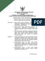 KMA 164 Tahun 2010 Tentang Pelaksanaan ABK Kemenag