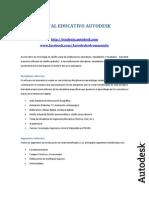 Portal Educativo Autodesk - Lista de Productos Disponibles Fy13