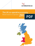 UK the Co-operative Economy 2011