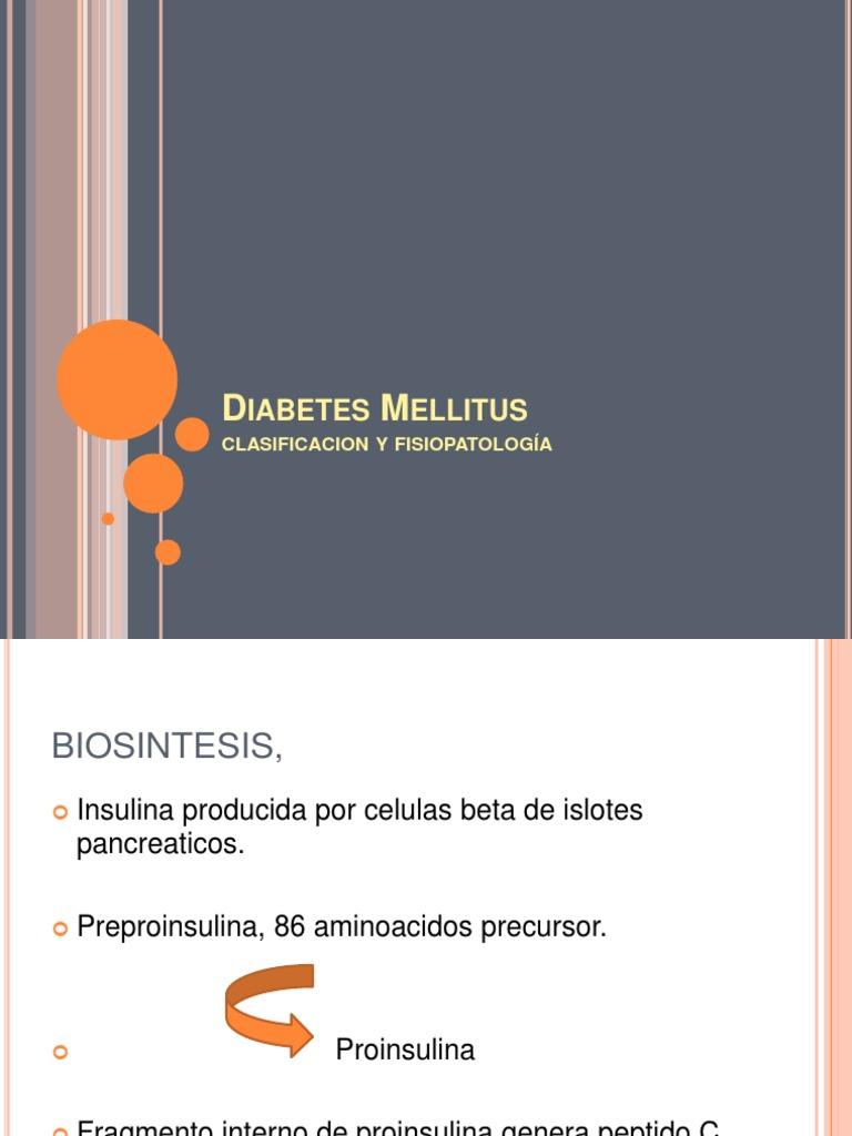 epidemiología diabetes mellitus 2 fisiopatología