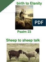 Psalm 23 Class 12