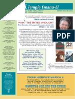 March 09 Bulletin