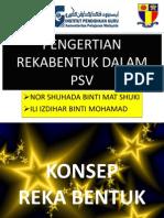 Pengertian Rekabentuk Dalam Psv
