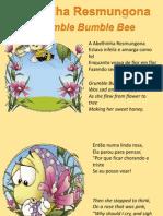 A Abelha Resmungona -Grumble Bumble Bee