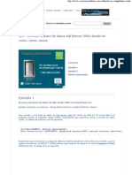 Acceder a Base de Datos SQL Server 2005 Desde Vb