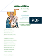 Hymns Written by St Patrick