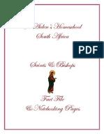 Saints & Bishops - A Fact File & Notebooking