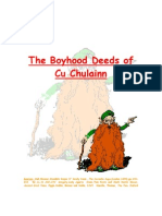 The Boyhood Deeds of Cu Chulainn