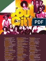 Digital Booklet - Soul City (iTunes)