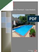 Marketing-Soren Chemical Case Study