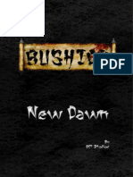 Bushido New Dawn Rules