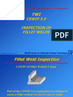 TWI CSWIP 3.0 Inspection of Fillet Welds