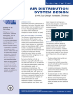 Air Distribution Sys Design