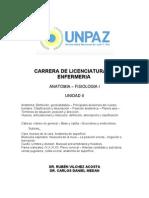 UNIDAD II. Generalidades de anatomía