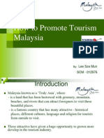 How to Promote Tourism Malaysia