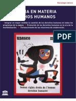 Estrategia en Materia de Derechos Humanos