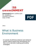 Business Environment (2)