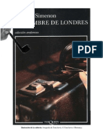 76440905 Simenon Georges El Hombre de Londres PDF
