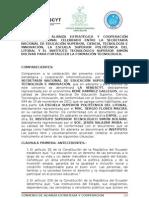 Proyecto Convenio Senescyt - Espol - Istsb
