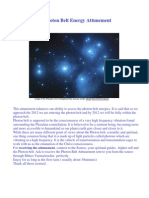 Photon Belt Energy Attunement