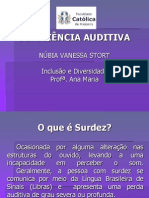 Deficiência Auditiva CATÓLICA