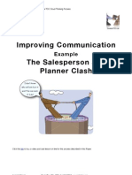The Sales Person and Planner Clash (Communication Example)