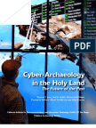 Cyber Archaeology in the Holy Land the Future of the Past