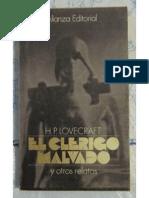 El Clerigo Maligno de H.p.Lovecraft