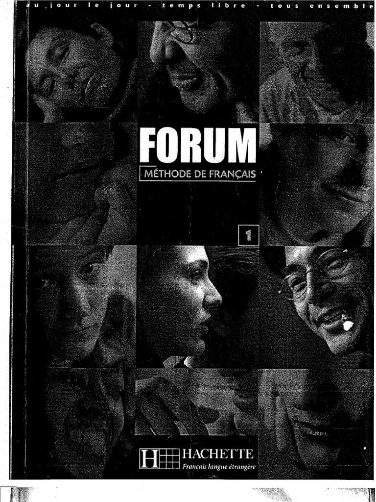 Forum 1 Methode De Francais Hachette Livre Complet Isbn