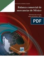 Balanza Comercial de Mercancia de Mexico
