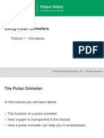 Who Ps Pulse Oxymetry Tutorial1 the Basics En