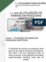 Utilização de animais