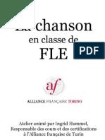 La Chanson en Classe de Fle Documents Complementaires