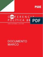 Conferencia Politica Psoe 2011