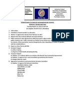 DLANC Agenda 031213