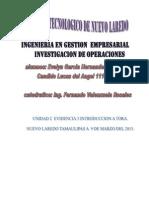 INTRODUCCION a TORA Grafico y Algebraico