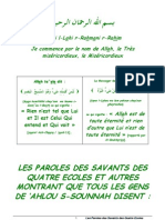 Paroles Des Savants