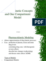 Pharmacokinetic Concepts