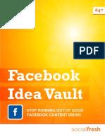 Facebook Idea Vault [Preview]