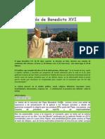 Adios de Benedicto XVI