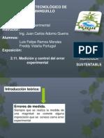 2.11. Medición y control del error experimental - copia.pptx