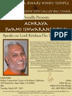 Swami Ishwarandandaji