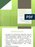 PROCESO CONSTRUCTIVO DE PILAS DE CIMENTACIÓN. DIAP