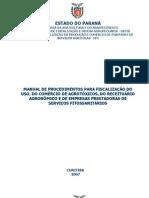 Agrotóxicos - Fiscalização PR