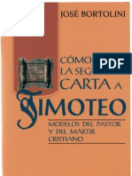 Bortolini, Jose - Como Leer La Carta 2 a Timoteo