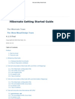 Hibernate Getting Started Guide