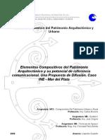 Elementos Compositivos del Patrimonio Arquitectónico y su potencial de referencia comunicacional (2009) - Gudefin, L.
