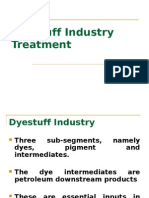 Dyestuff Industry Treatment