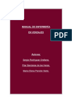 Manual de Enfermeria en Vendajes